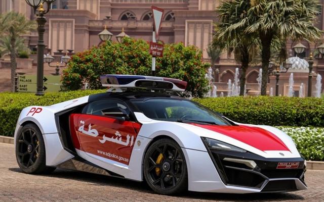 Policia De Abu Dhabi Ganha Lykan Hypersport Como Reforco Fullpower