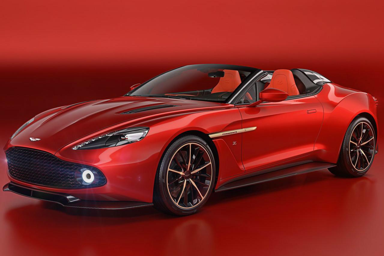 Aston Martin Apresenta Inedito Vanquish Zagato Speedster Com Motorzao V12 Fullpower