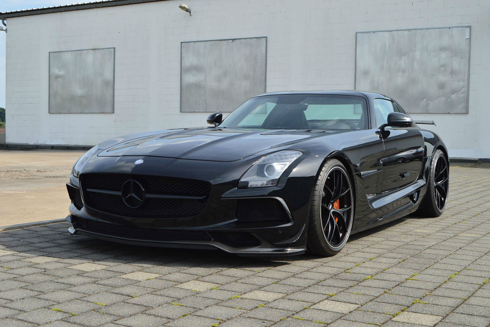 Mercedes Benz SLS AMG Black Series ...