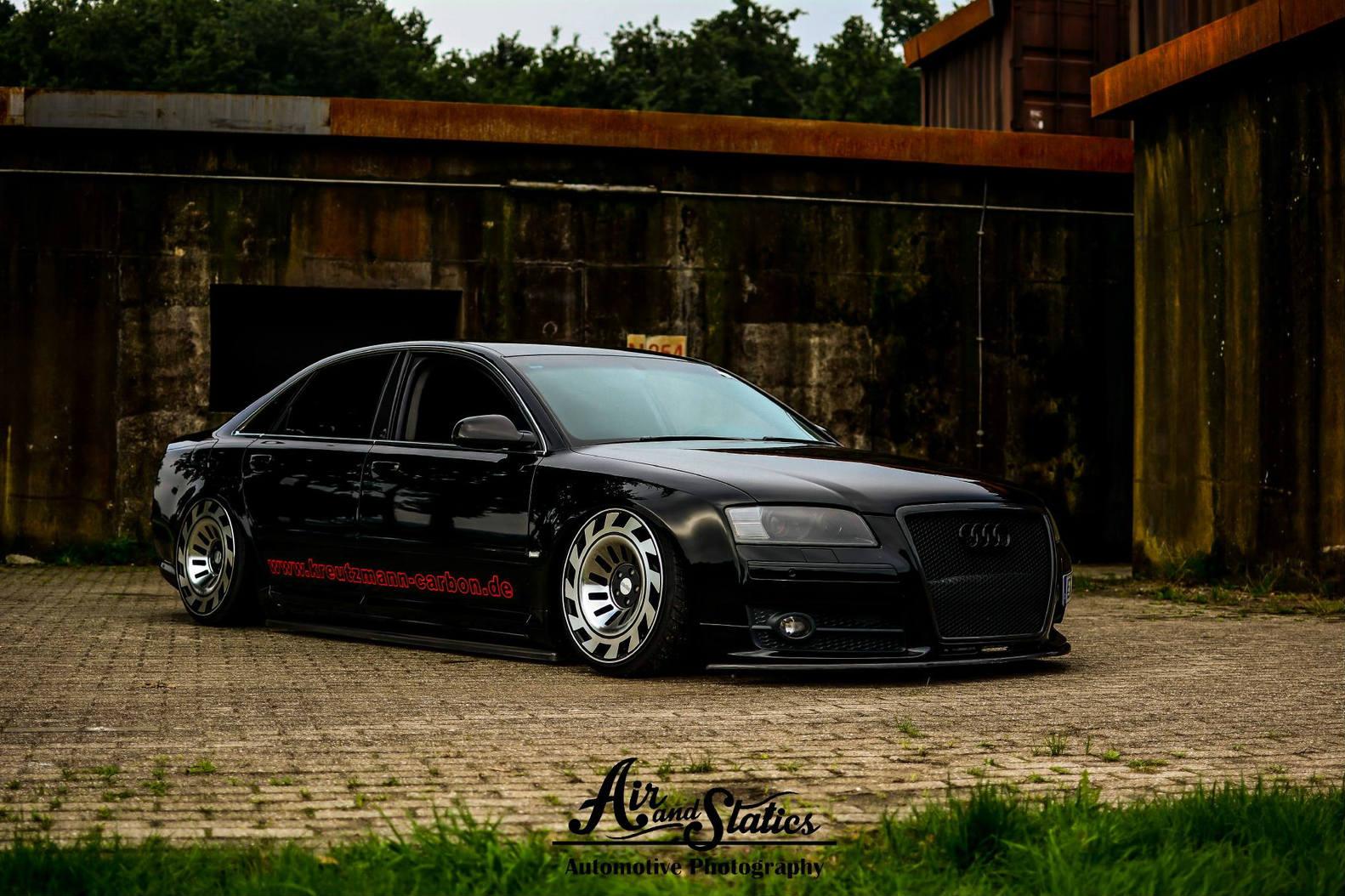 Preparadora Alema Soca Audi S8 D3 No Chao E Coloca Rodas Exclusivas No Seda Fullpower