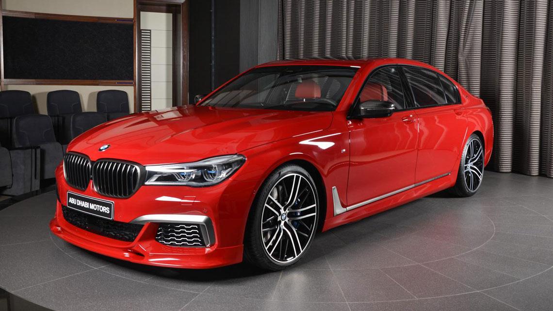 Voce Vai Ficar Um Tempo Admirando Essa Bmw Serie 7 V12 Vermelha Imola Fullpower