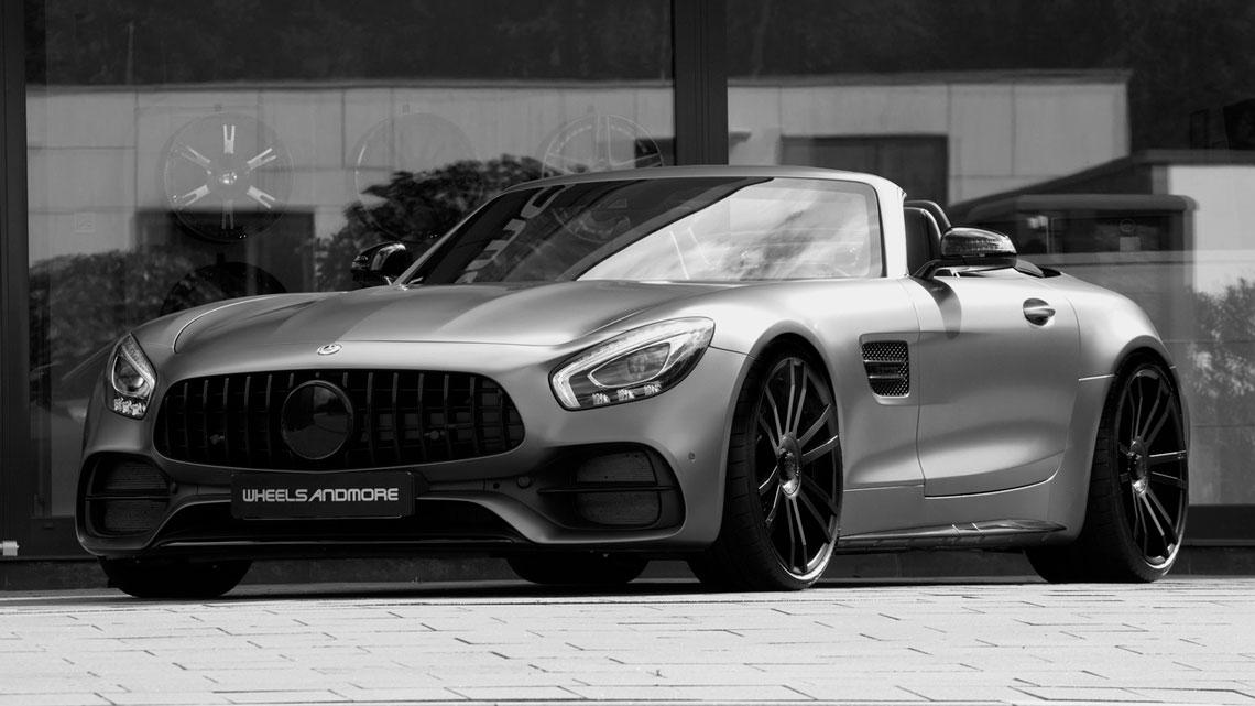 Preparadora Arranca 124 Cv A Mais Do Motor V8 Biturbo Do Mercedes Amg Gt C Roadster Fullpower