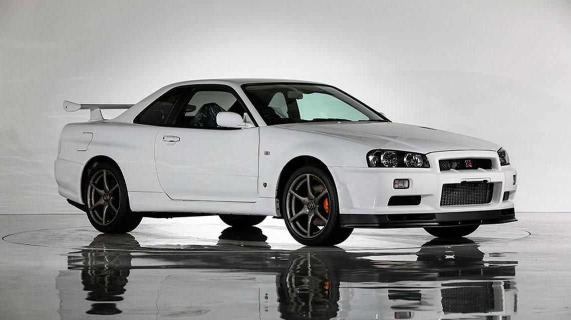 Nissan Skyline GT R V Spec II Nür