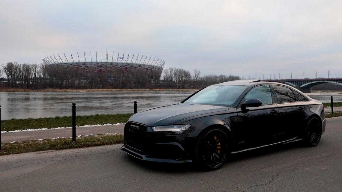 Preparadora Realiza Sonho De Muita Gente Ter Um Audi Rs6 Sedan De 600 Cv Fullpower