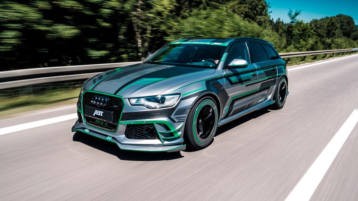 ABT passa dos limites com Audi RS6-E, perua híbrida com ...